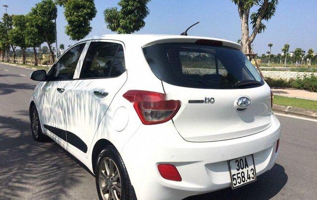 Bán Hyundai Grand i10 sản xuất năm 2015, màu trắng8