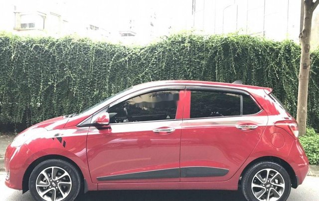 Cần bán xe Hyundai Grand i10 năm sản xuất 2018, màu đỏ, 325tr3