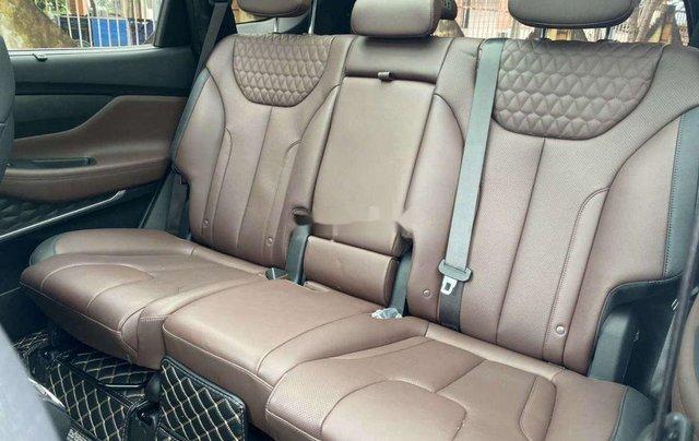 Cần bán gấp Hyundai Santa Fe 2020, màu trắng số tự động6