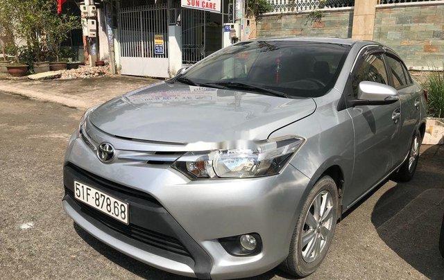 Cần bán xe Toyota Vios sản xuất 2017, màu bạc xe gia đình, giá chỉ 410 triệu1