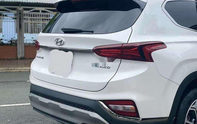 Cần bán gấp Hyundai Santa Fe 2020, màu trắng số tự động4
