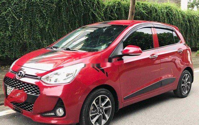 Cần bán xe Hyundai Grand i10 năm sản xuất 2018, màu đỏ, 325tr2
