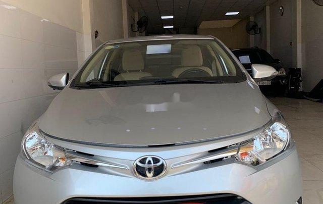 Bán ô tô Toyota Vios đời 2015, màu bạc, số sàn0