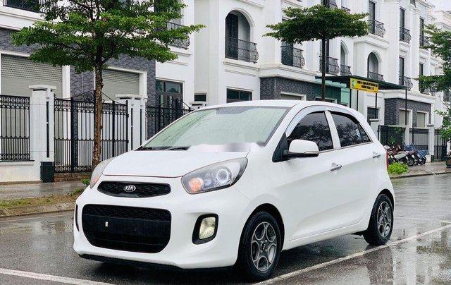 Cần bán xe Kia Morning sản xuất 2015, màu trắng, nhập khẩu1