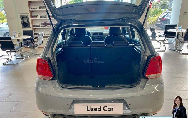 Polo Hatchback lướt màu xám độ body kid, màu sơn mới, bọc da mới giá hạt dẻ - 579 triệu4