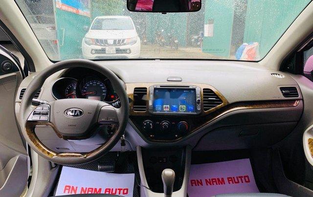 Cần bán xe Kia Morning sản xuất 2015, màu trắng, nhập khẩu11