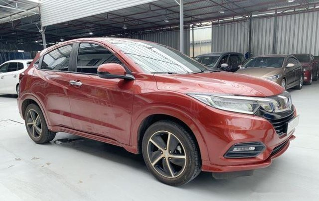 Bán xe Honda HR-V sản xuất năm 2019, màu đỏ còn mới1