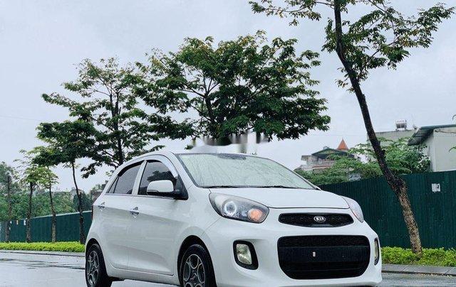 Cần bán xe Kia Morning sản xuất 2015, màu trắng, nhập khẩu8