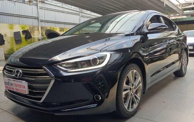 Bán Hyundai Elantra sản xuất năm 2017, màu đen như mới2