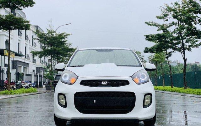 Cần bán xe Kia Morning sản xuất 2015, màu trắng, nhập khẩu0