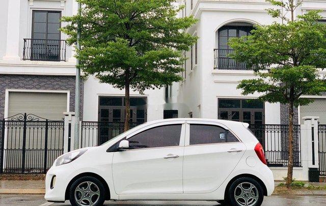 Cần bán xe Kia Morning sản xuất 2015, màu trắng, nhập khẩu2