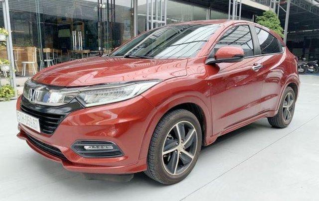 Bán xe Honda HR-V sản xuất năm 2019, màu đỏ còn mới3