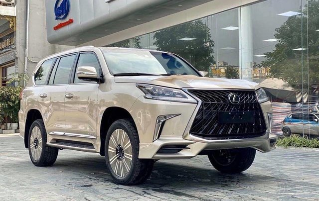 Lexus LX 570 Mỹ 2020 vàng cát, Hà Nội. Giá tốt nhất thị trường0