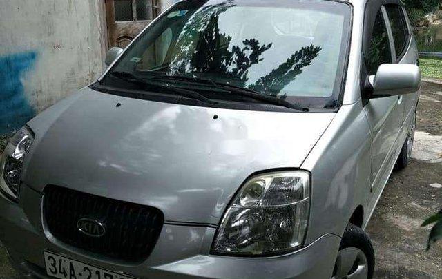 Cần bán xe Kia Morning đời 2007, màu bạc, xe nhập1