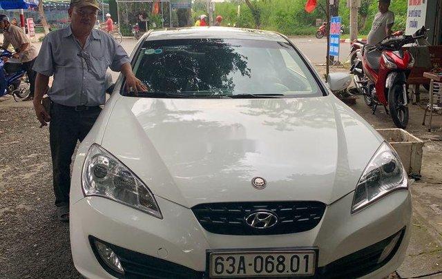 Cần bán lại xe Hyundai Genesis 2014, màu trắng, xe nhập còn mới, giá 520tr2