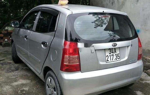 Cần bán xe Kia Morning đời 2007, màu bạc, xe nhập0