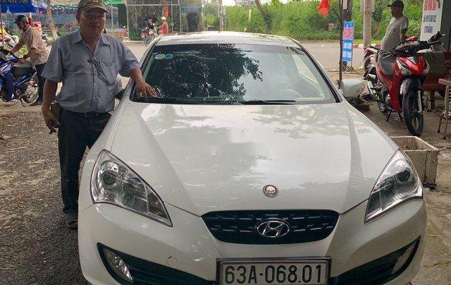 Cần bán lại xe Hyundai Genesis 2014, màu trắng, xe nhập còn mới, giá 520tr0