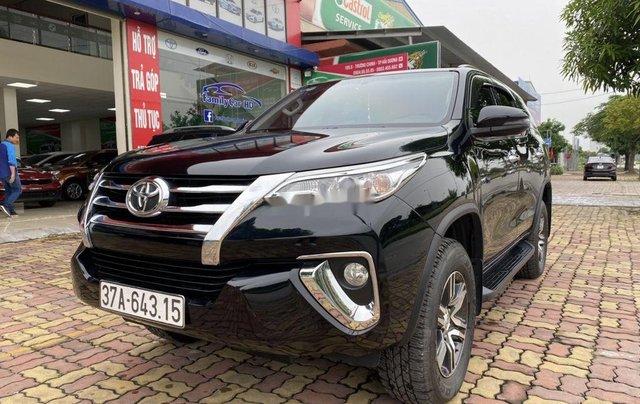 Bán xe Toyota Fortuner sản xuất năm 2019, màu đen  2