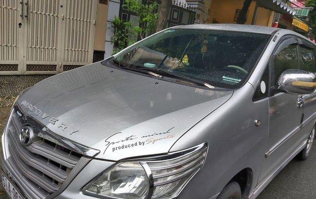 Cần bán Toyota Innova sản xuất 2014, màu ghi3