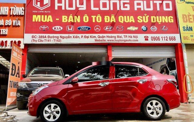 Cần bán lại xe Hyundai Grand i10 đời 2019, màu đỏ2
