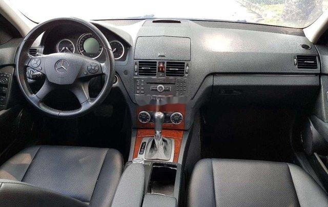 Cần bán lại xe Mercedes C200K năm sản xuất 2007, màu đen8
