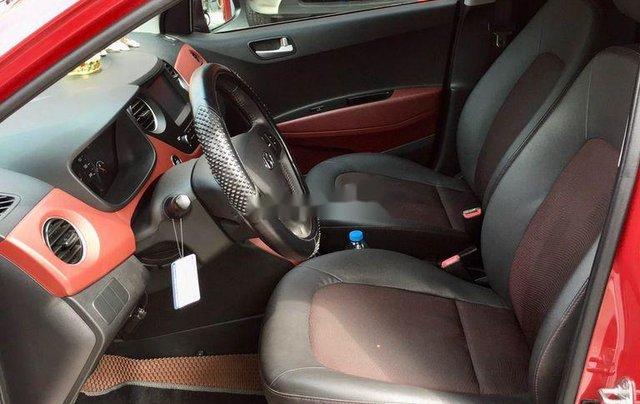 Cần bán lại xe Hyundai Grand i10 đời 2019, màu đỏ5