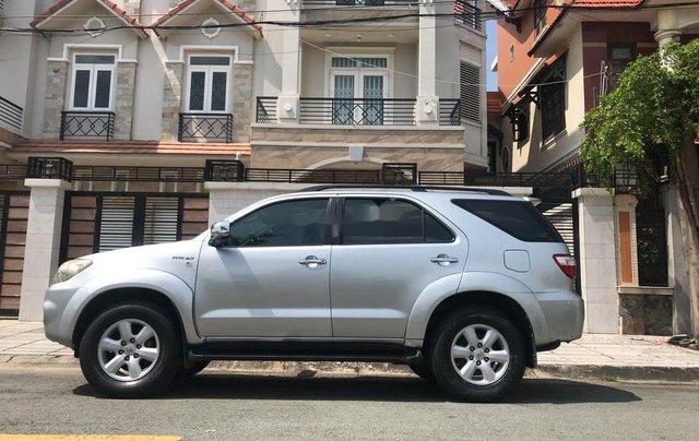 Cần bán xe Toyota Fortuner 2009, màu bạc, xe nhập0
