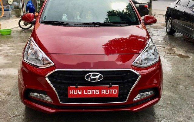 Cần bán lại xe Hyundai Grand i10 đời 2019, màu đỏ0