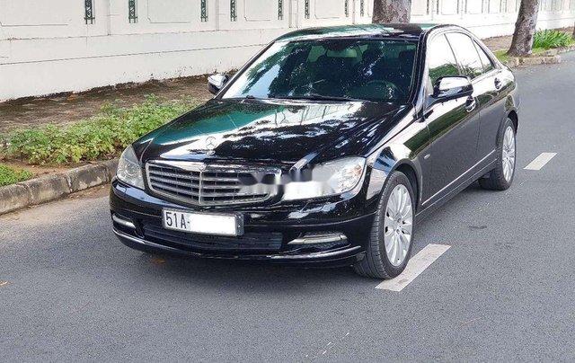 Cần bán lại xe Mercedes C200K năm sản xuất 2007, màu đen1