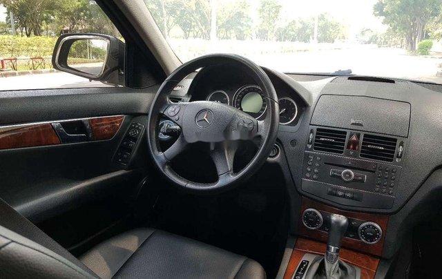 Cần bán lại xe Mercedes C200K năm sản xuất 2007, màu đen9