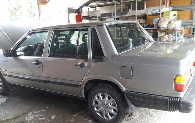 Bán lại xe Volvo 740 sản xuất 1985, màu bạc, nhập khẩu  4
