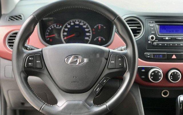 Cần bán lại xe Hyundai Grand i10 đời 2016, màu trắng, nhập khẩu, giá 339tr10