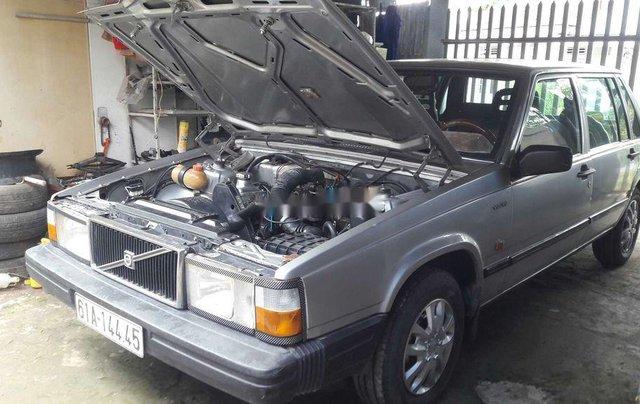Bán lại xe Volvo 740 sản xuất 1985, màu bạc, nhập khẩu  3