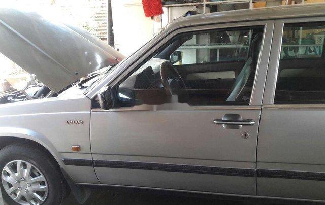 Bán lại xe Volvo 740 sản xuất 1985, màu bạc, nhập khẩu  2