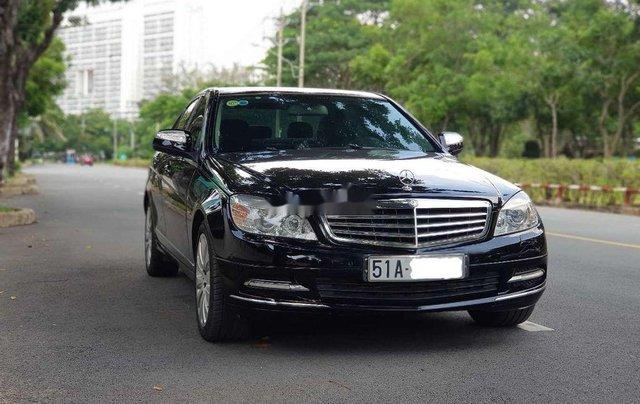 Cần bán lại xe Mercedes C200K năm sản xuất 2007, màu đen0