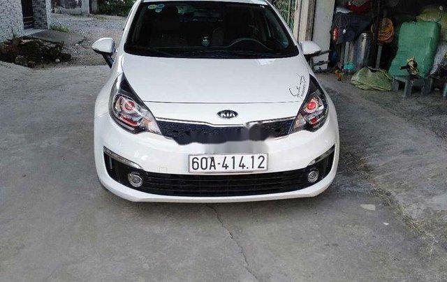 Cần bán lại xe Kia Rio đời 2016, màu trắng, nhập khẩu Hàn Quốc 1