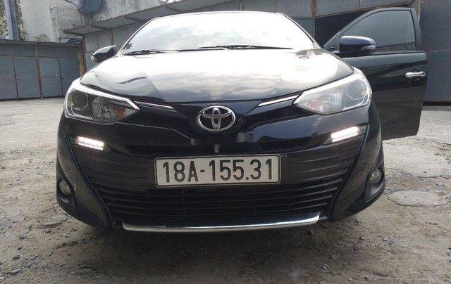 Bán ô tô Toyota Vios năm sản xuất 2019, màu đen  0