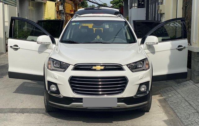 Cần bán lại xe Chevrolet Captiva năm sản xuất 2017, màu trắng chính chủ0