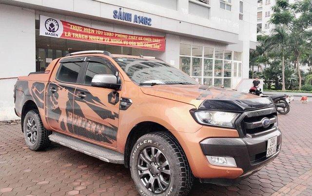 Bán Ford Ranger Wildtrak 3.2 4x4 đời cuối 20153