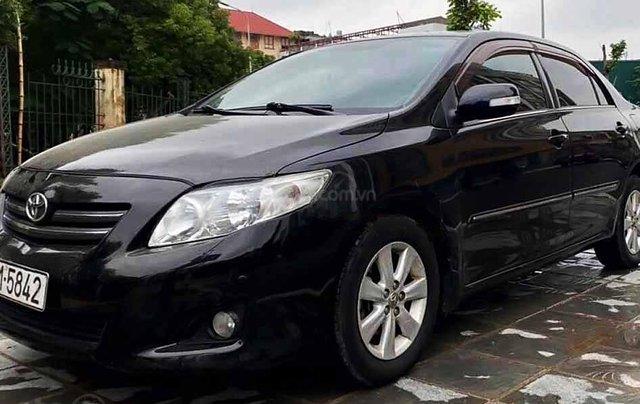 Bán Toyota Corolla Altis 2008, màu đen0