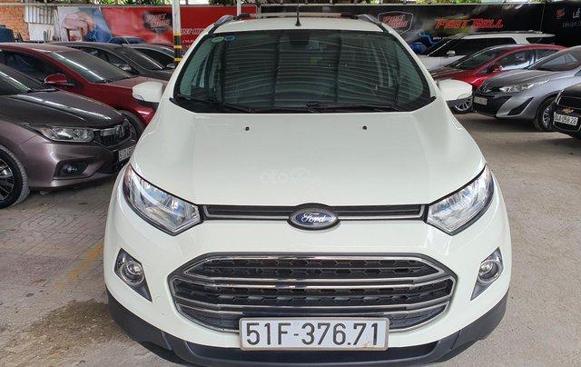 Cần bán xe Ford Ecosport bản 1.5 Titanium, màu trắng, SX năm 20150