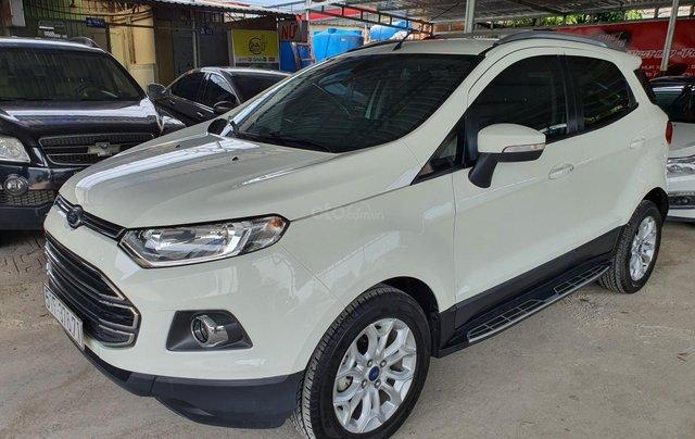 Cần bán xe Ford Ecosport bản 1.5 Titanium, màu trắng, SX năm 20151