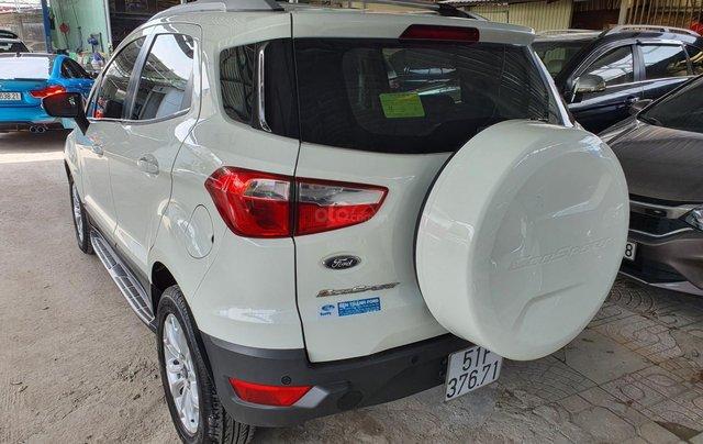 Cần bán xe Ford Ecosport bản 1.5 Titanium, màu trắng, SX năm 20154