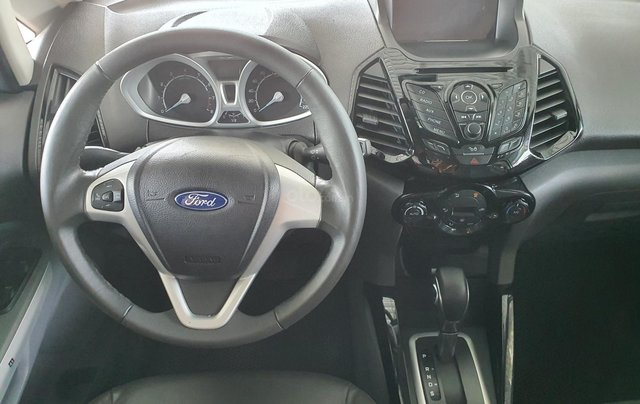 Cần bán xe Ford Ecosport bản 1.5 Titanium, màu trắng, SX năm 20159