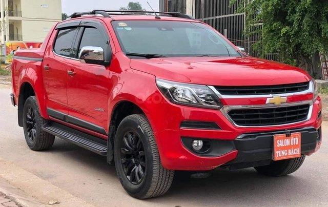 Cần bán xe Chevrolet Corolado HC 2.8L 4x4AT đời  2017, màu đỏ đẹp1