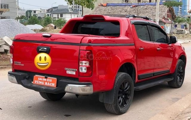 Cần bán xe Chevrolet Corolado HC 2.8L 4x4AT đời  2017, màu đỏ đẹp2