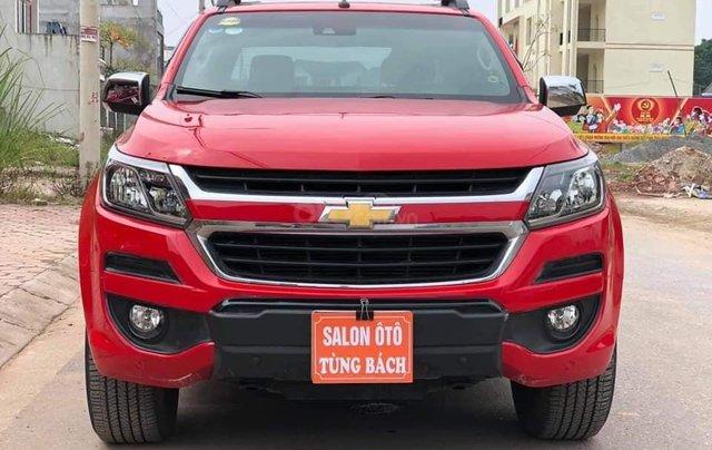 Cần bán xe Chevrolet Corolado HC 2.8L 4x4AT đời  2017, màu đỏ đẹp3