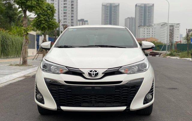 Bán xe Toyota Yaris đời 2019, màu trắng0