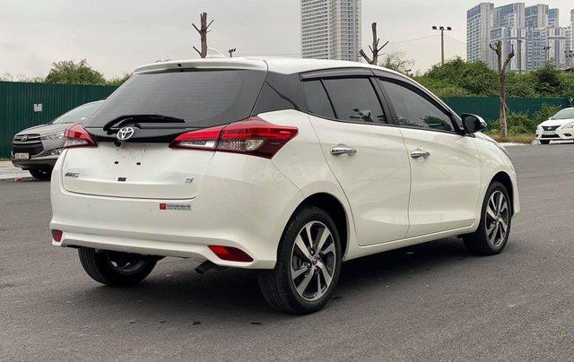 Bán xe Toyota Yaris đời 2019, màu trắng1