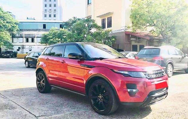 Cần bán LandRover Range Rover năm 2012, màu đỏ, nhập khẩu nguyên chiếc còn mới, giá chỉ 980 triệu0